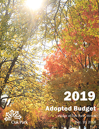 Link to a PDF file of the Fiscal Year 2019 Village of Oak Park adopted budget