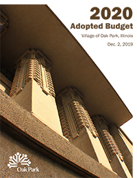 Link to a PDF file of the Fiscal Year 2020 Village of Oak Park adopted budget