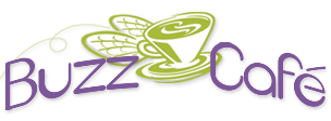 Buzz Cafe logo that links to the restaurant website