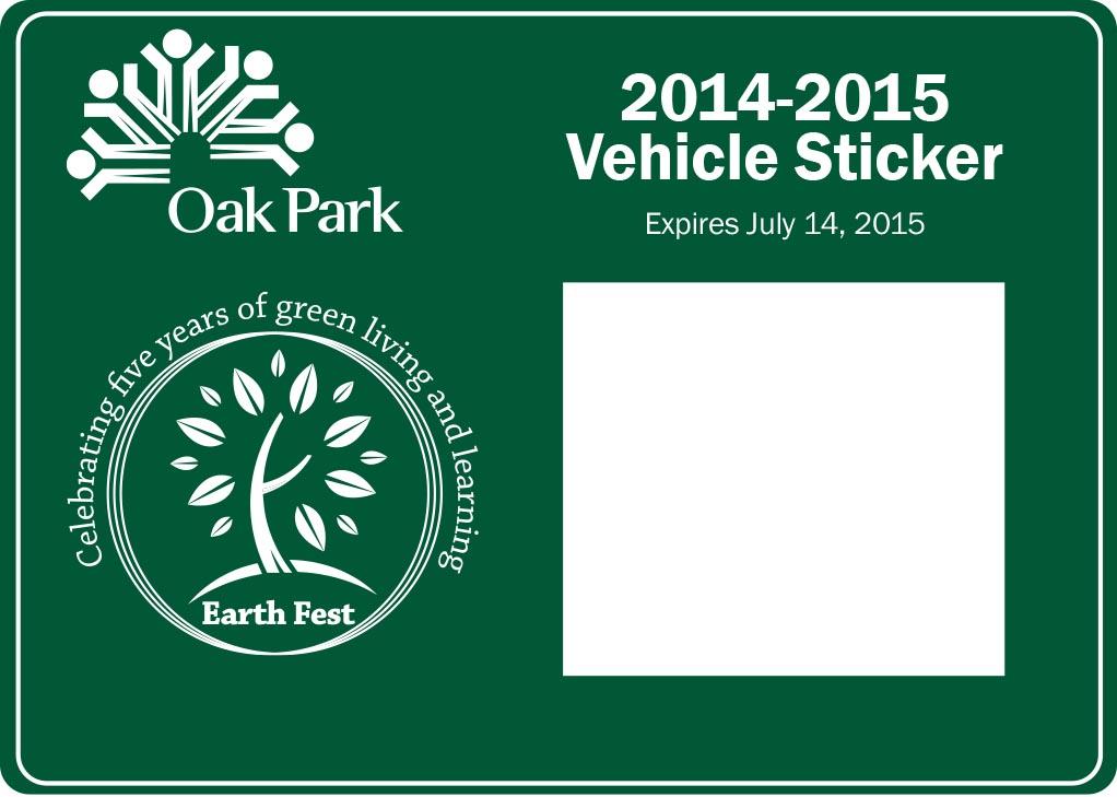 Japanese Parking Sticker