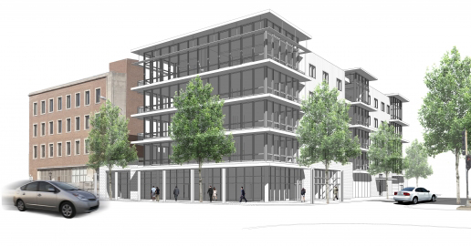Rendering of District House development project