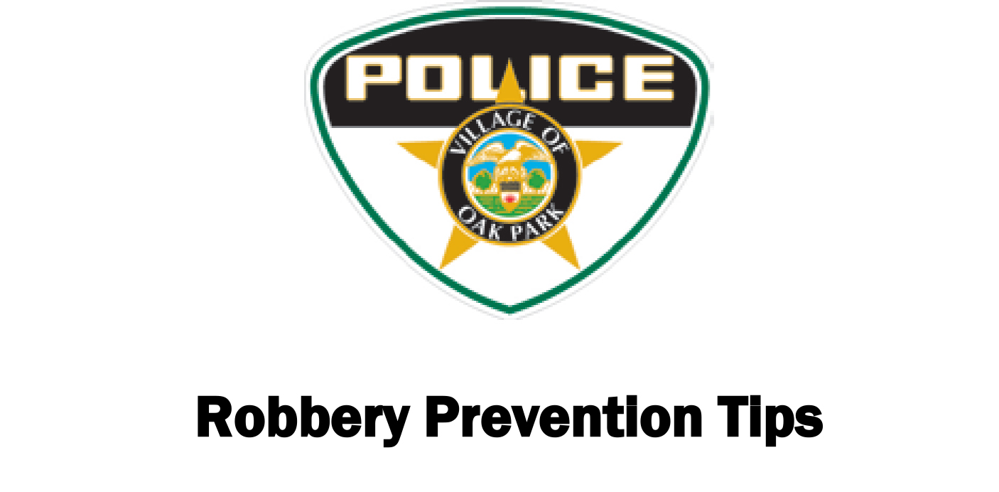 link to robbery prevention tips